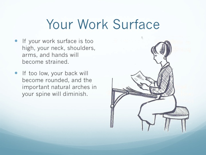"Sharon Starika movement educator ""Posture in the Workplace"""